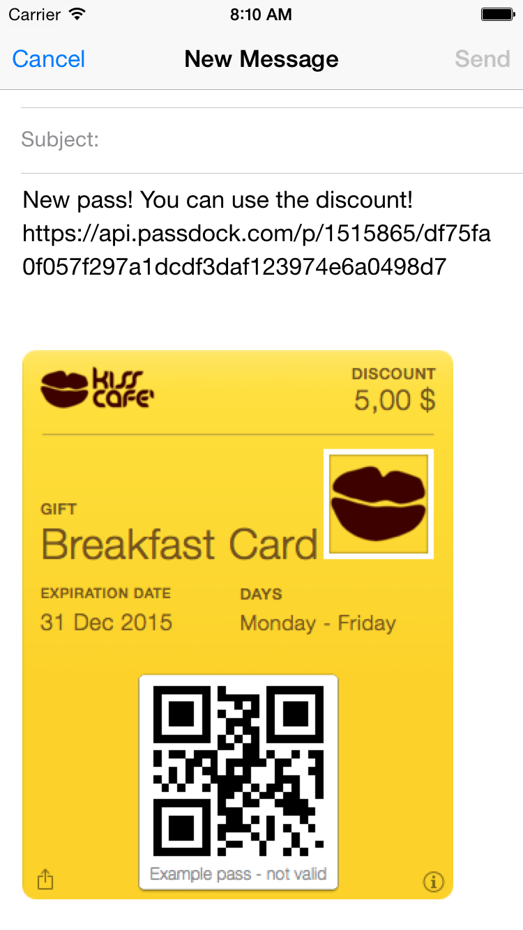 how to add boarding pass to passbook
