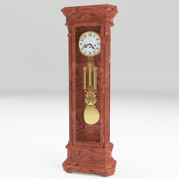 3DOcean Floor Clock 11624696