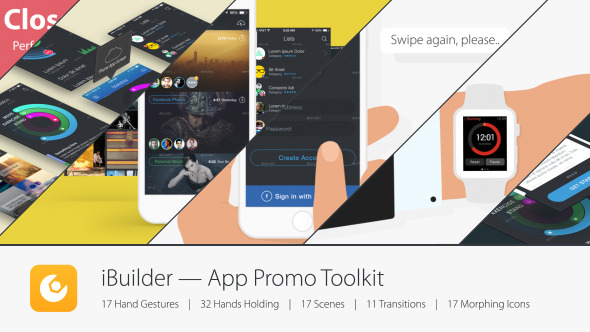 ibuilder app promo toolkit after effects template videohive 11589295 after effects project. Black Bedroom Furniture Sets. Home Design Ideas