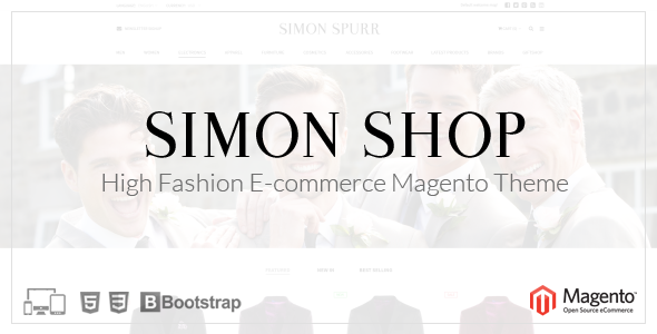 Simon Shop - Responsive Magento Theme