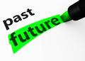 Future Vs Past Choice Concept - PhotoDune Item for Sale