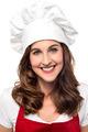 Beautiful female chef posing - PhotoDune Item for Sale