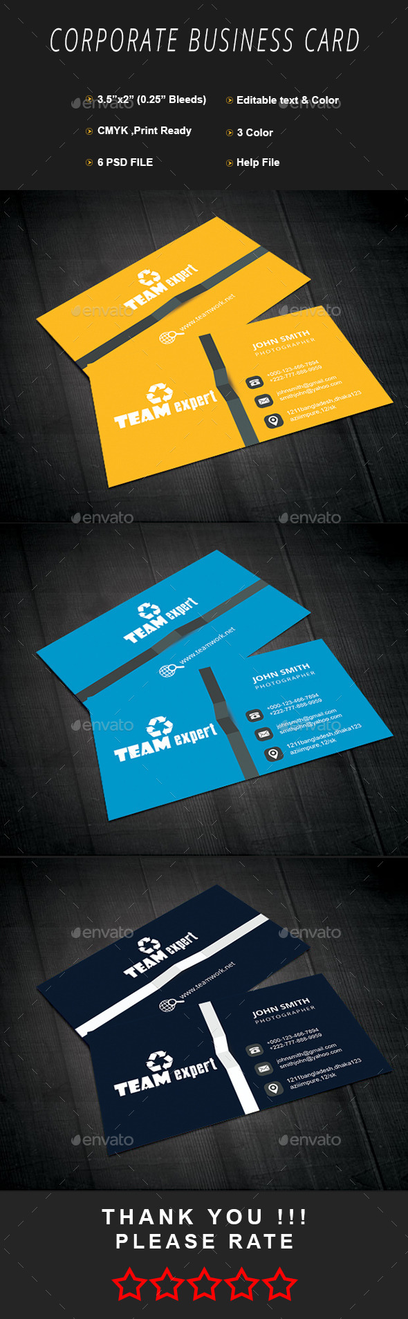 GraphicRiver Corporate Businesss Card 11625983