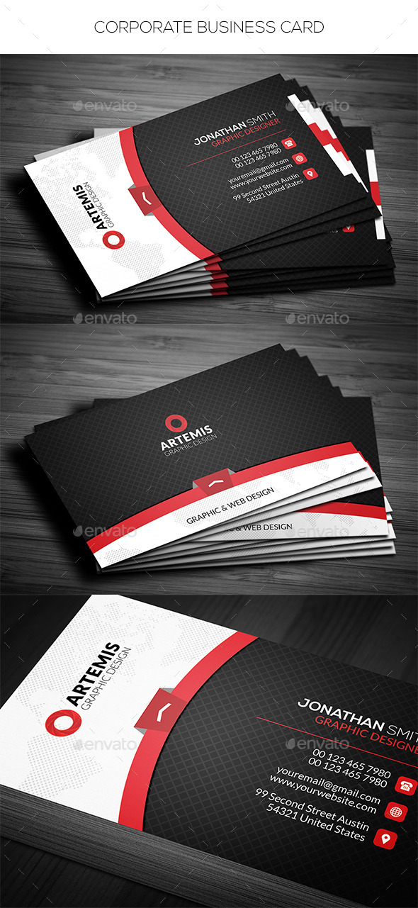GraphicRiver Corporate Business Card 11626566