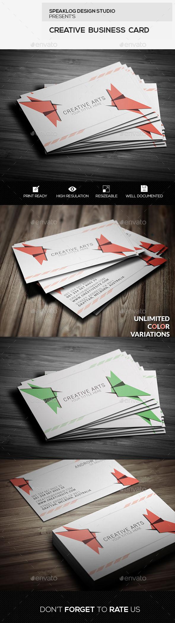 GraphicRiver Creative Business Card Design 11627268