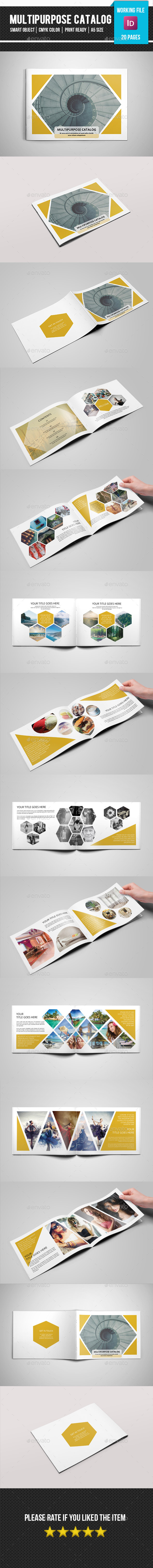 GraphicRiver Multipurpose Portfolio Catalog-V171 11627375