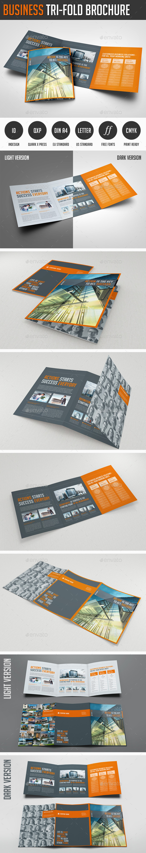 GraphicRiver Business Trifold Brochure 11627404