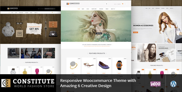 ThemeForest Constitute WooCommerce Responsive Theme 11627484