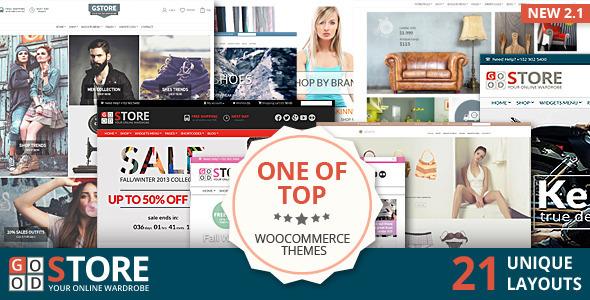 GoodStore - WooCommerce Responsive Theme - WooCommerce eCommerce