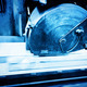 Big metal saw at work in workshop. Industrial - PhotoDune Item for Sale