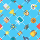 Modern Flat School Icons Seamless Pattern - GraphicRiver Item for Sale