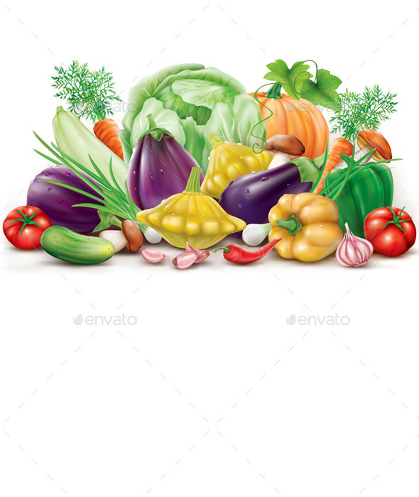 GraphicRiver Collection Different Vegetables 11628307