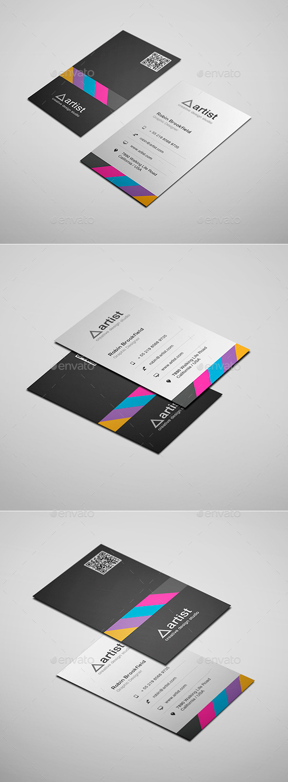 GraphicRiver Business Card Vol 25 11628358