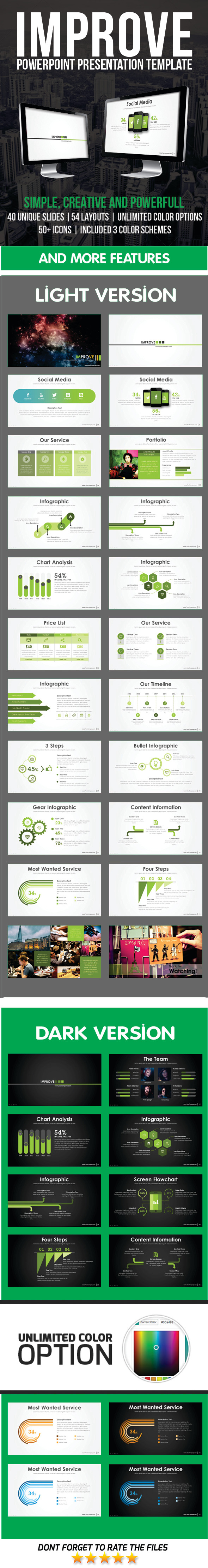 GraphicRiver Improve PowerPoint Template 11628383