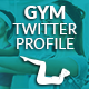 Twitter Profile Cover - Gym - GraphicRiver Item for Sale