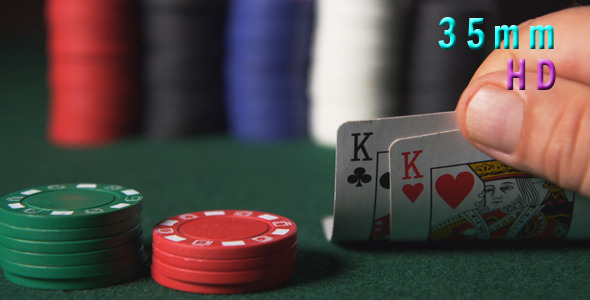 Poker Chips And Two Kings 39