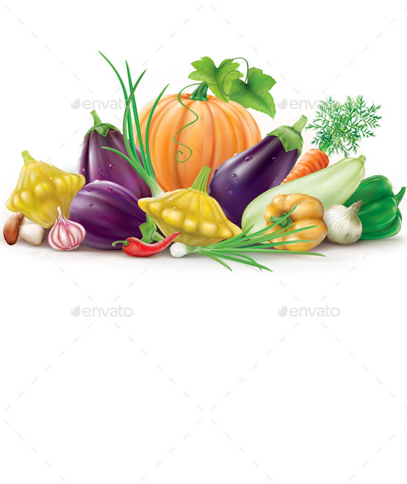 GraphicRiver Colorful Vegetables 11628945