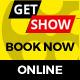 Online Movie Tickets - GWD Ad Banner