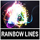 Abstract Rainbow Lines Opener - VideoHive Item for Sale