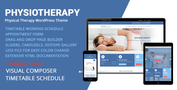 ThemeForest Physiotherapy Physical Therapy WordPress Theme 11531898