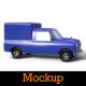 Mini Pickup Car Mockup