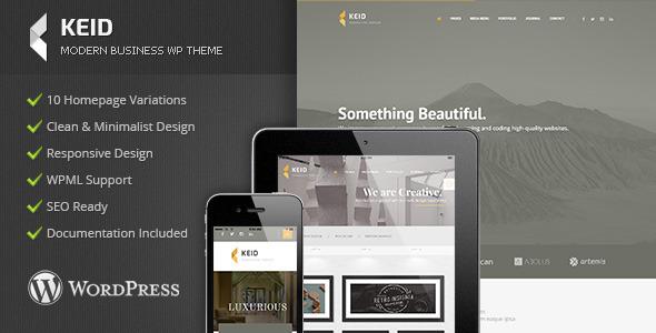 ThemeForest Keid Modern Multipurpose Wordpress Theme 11629813
