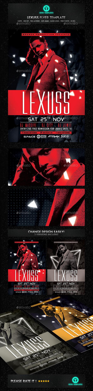 GraphicRiver Futuristic Artist DJ Flyer Template 11629888