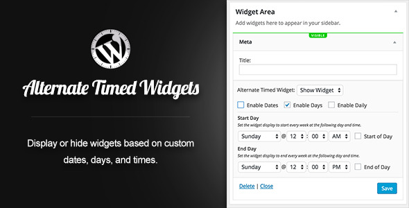 CodeCanyon Alternate Timed Widgets 11630114