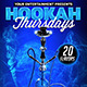 Hookah Thursdays Flyer Template - GraphicRiver Item for Sale
