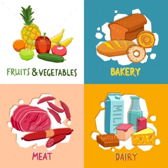 GraphicRiver Supermarket Design Concept 11630331
