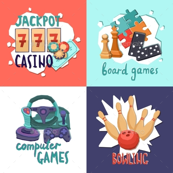 GraphicRiver Game Design Concept 11630333