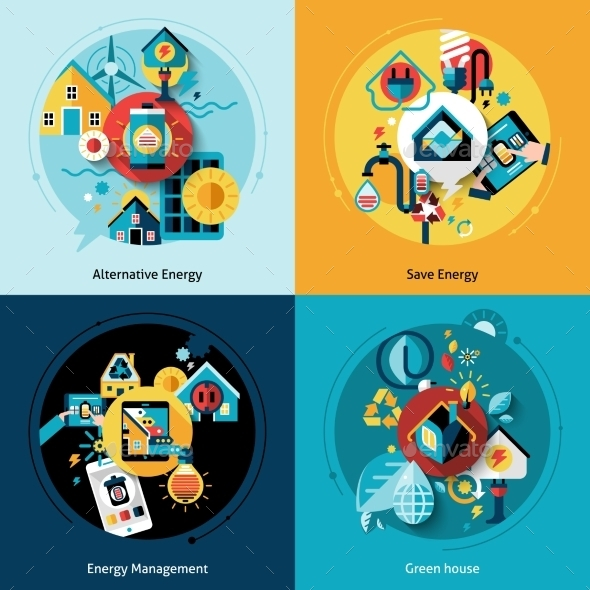 GraphicRiver Energy Efficiency Set 11630336