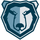Iron Bear Logo Template  - GraphicRiver Item for Sale