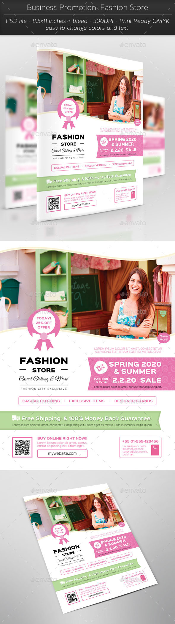 GraphicRiver Business Promotion Fashion Store 11631144