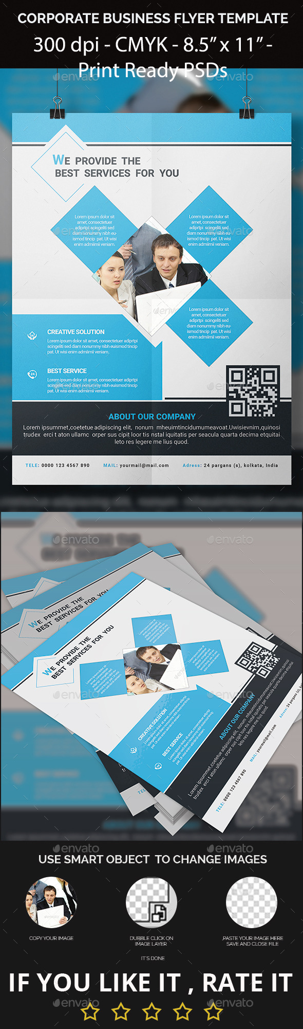 GraphicRiver Corporate Business Flyer Template 11631240