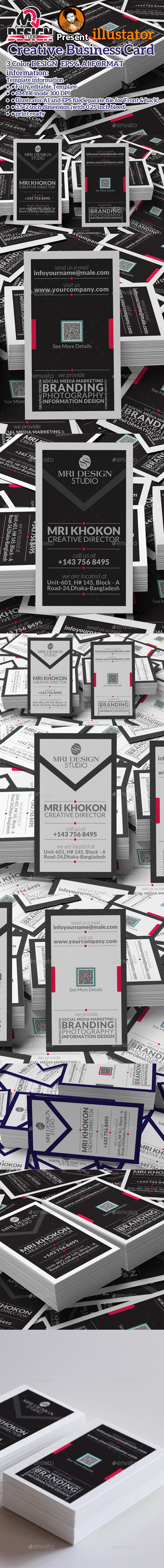 GraphicRiver Simply Corporate Business Card 11631370