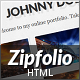 Zipfolio - Single Page Portfolio Template - ThemeForest Item for Sale