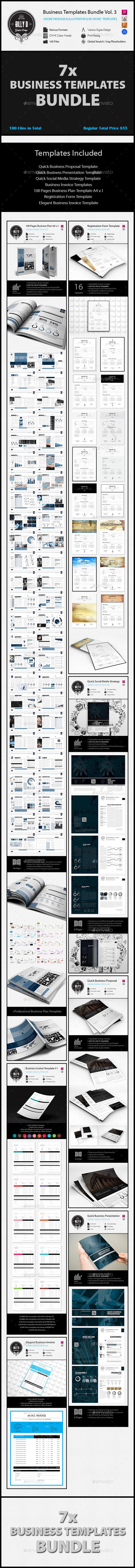 GraphicRiver Business Templates Bundle Vol.3 11637139