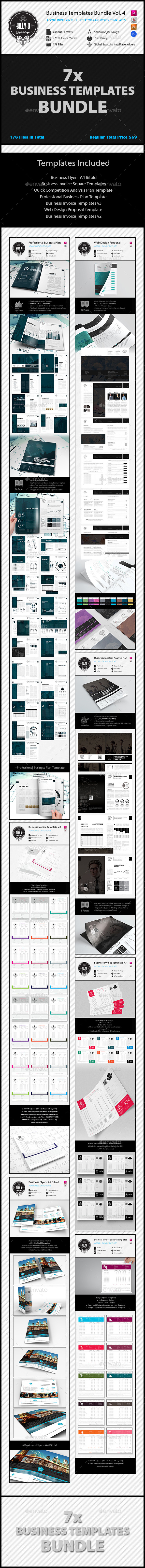 GraphicRiver Business Templates Bundle Vol.4 11637153