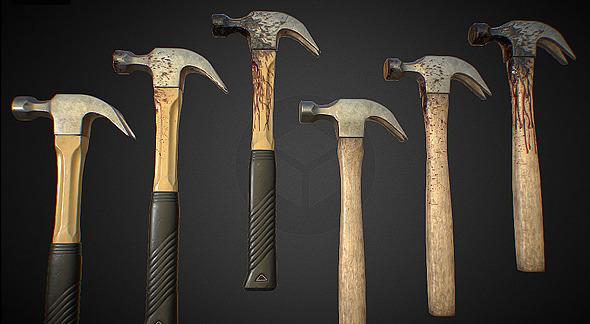 3DOcean Bloody Hammer 11639803