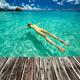 Woman in bikini lying on water - PhotoDune Item for Sale