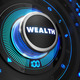 Wealth Controller on Black Control Console. - PhotoDune Item for Sale