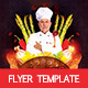 Master Chef Flyer Template - GraphicRiver Item for Sale
