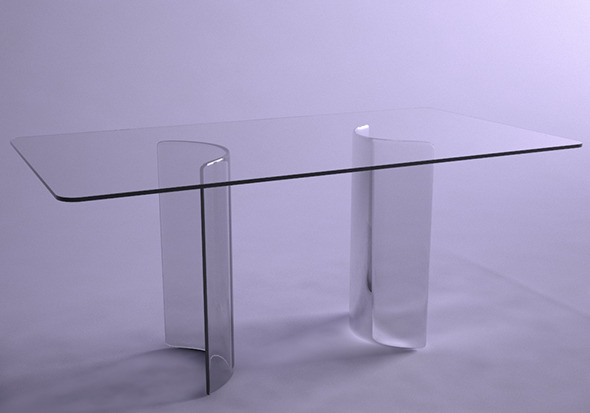 Table Glass - 3DOcean Item for Sale
