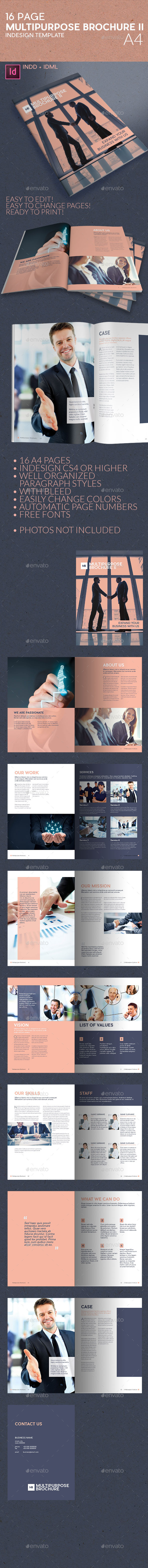 GraphicRiver Multipurpose Business Brochure II A4 11642176