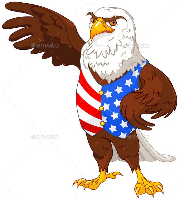 GraphicRiver American Eagle 11642268
