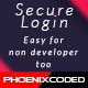 Secure auth: Simple and Easy login system
