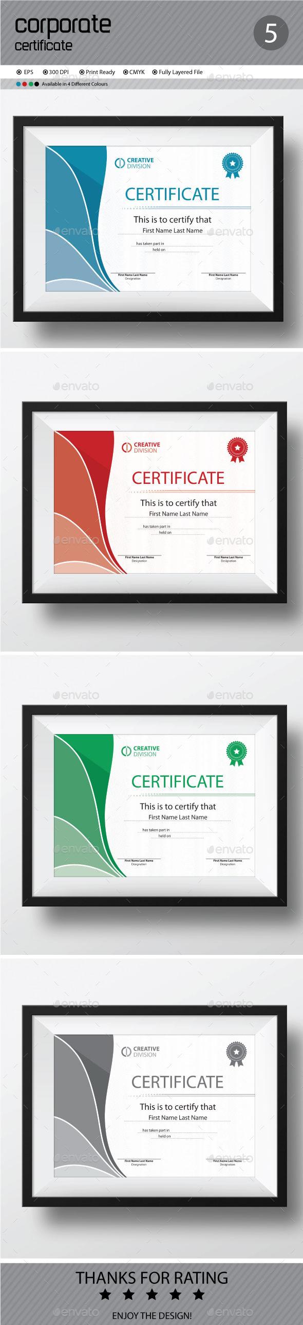 GraphicRiver Certificate 11642855