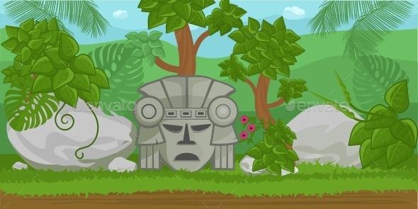 GraphicRiver Jungle Illustration 11643224