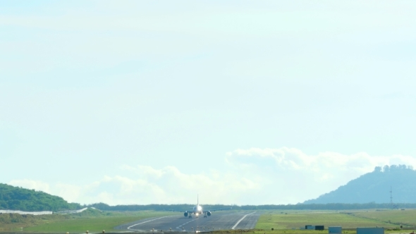 VideoHive Airplane Take-off 11643943